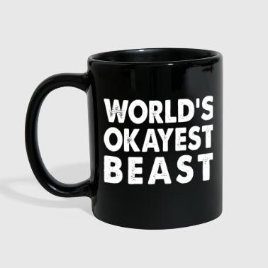 World's Okayest Beast Large Mammal - Full Color Mug