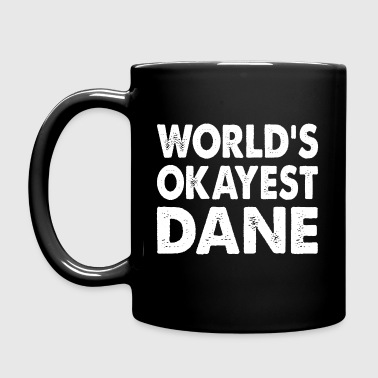 World's Okayest Dane Danish Denmark - Full Color Mug