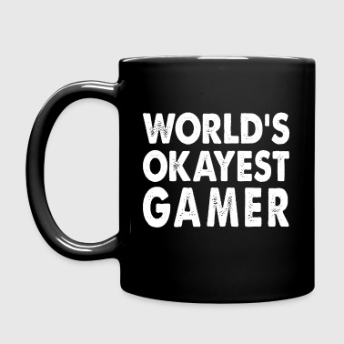 World's Okayest Gsmer Computer Gaming - Full Color Mug