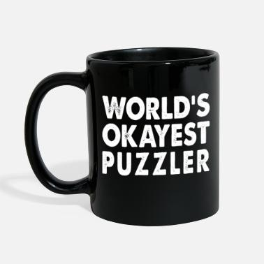 Puzzler World's Okayest Puzzler - Full Color Mug