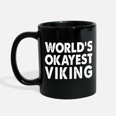 Viking World's Okayest Viking - Full Color Mug