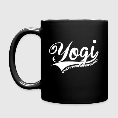 Yogi, what's your superpower ? - Full Color Mug