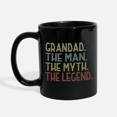 Man Grandad The Man The Myth The Legend T Shirt - Full Color Mug