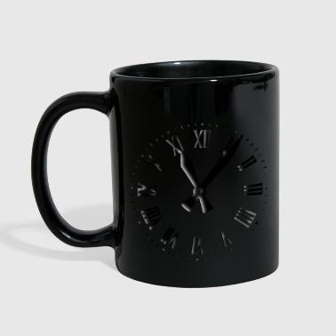 Clock Retro Clockface - Full Color Mug