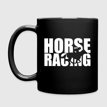 Horse Racing - Full Color Mug