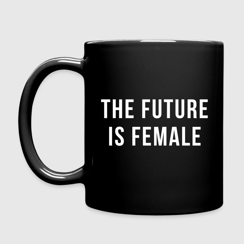 Future Is Female Quote - Full Color Mug