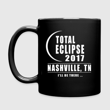 Total Eclipse 2017 Nashville TN Solar Eclipse - Full Color Mug
