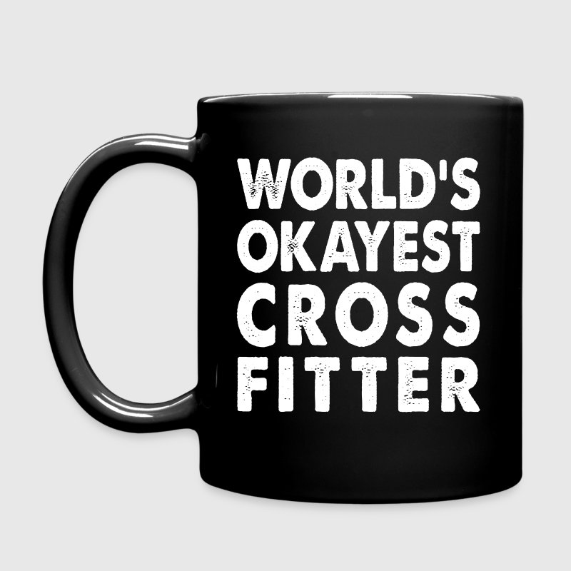 World's Okayest Crossfitter - Full Color Mug