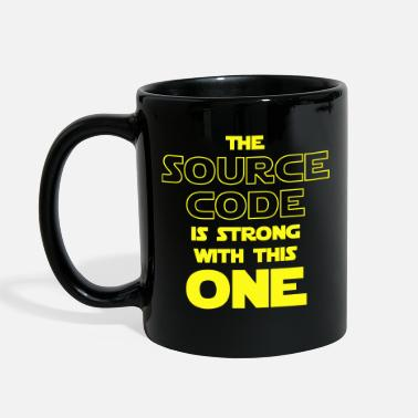 Binary Numeral System THE SOURCE CODE IS STRONG WITH THIS ONE - Full Color Mug