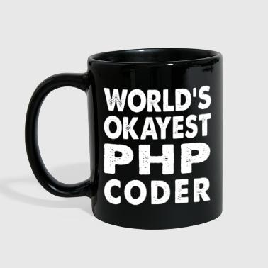 Php World's Okayest PHP Coder - Full Color Mug