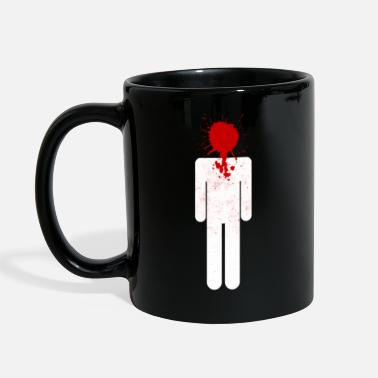Headshot Splatter - Full Color Mug
