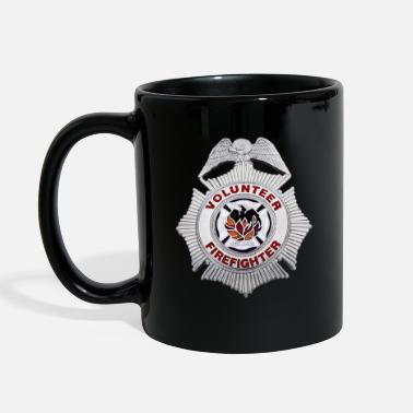 Volunteer volunteer firefighter - Full Color Mug