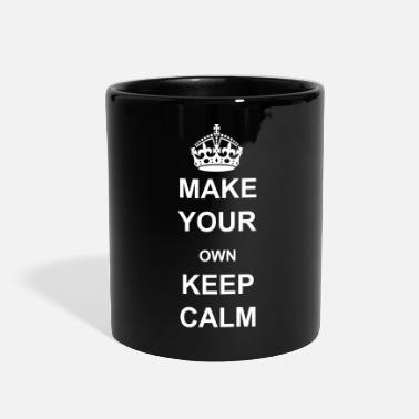 Keep Calm Crown Keep Calm and Carry On Crown - Full Color Mug
