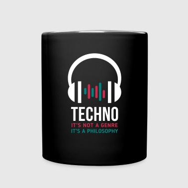 Techno it's a philosophy - Full Color Mug