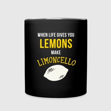 Italians Limoncello Italian Heritage T Shirt - Full Color Mug