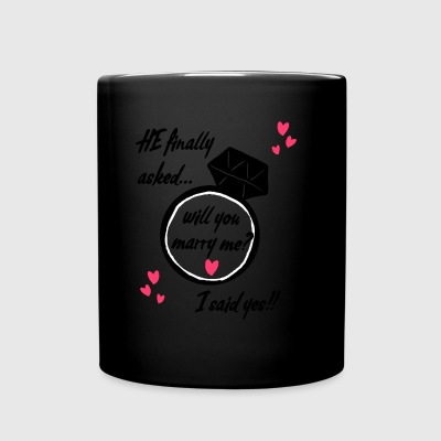 Will you marry me? - Full Color Mug