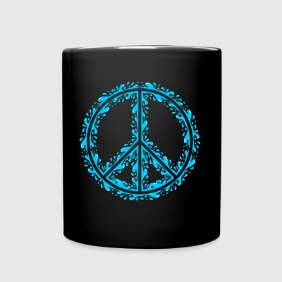 Liquid Peace Sign - Full Color Mug