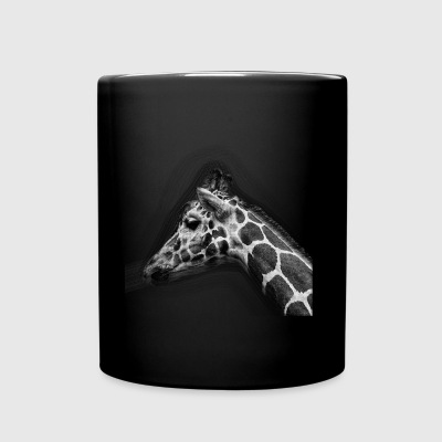 Giraffe Drawing - Full Color Mug