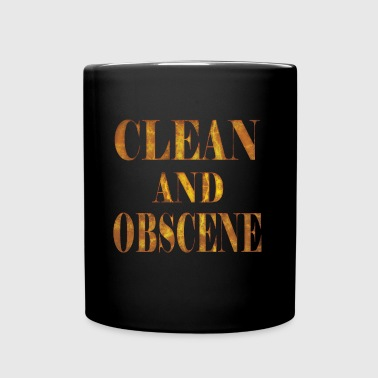 Clean and Obscene words3 - Full Color Mug