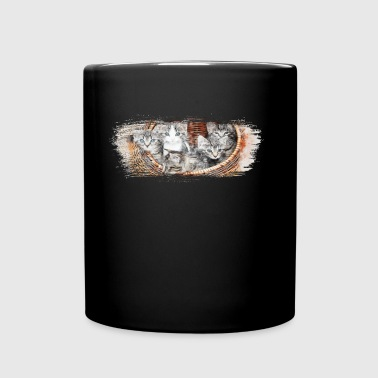 Basket full of kittens - Full Color Mug