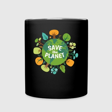 Save The Planet Ecology T-shirt - Full Color Mug