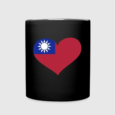 Taiwan Heart; Love Taiwan - Full Color Mug