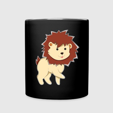 Happy Cartoon Baby Lion - Full Color Mug