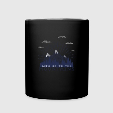 Adventure Mountains T-shirts and Products - Full Color Mug