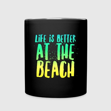 At the Beach - Full Color Mug