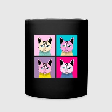 Cat Pop-Art - Full Color Mug