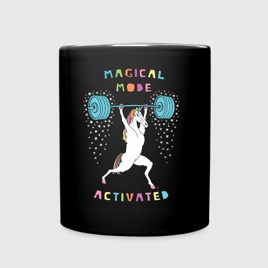 Magical Mode Unicorn Outline - Full Color Mug