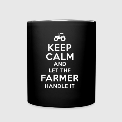 Keep calm Farmer T Shirts - Full Color Mug