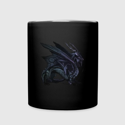 Menacing Dragon - Full Color Mug