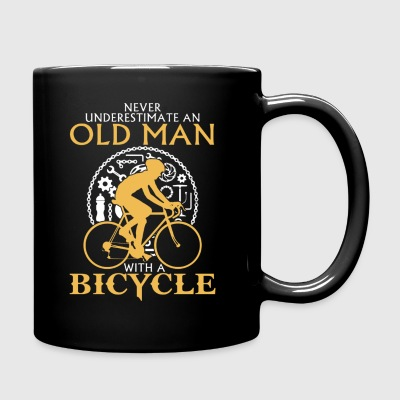 OLD MAN BICYCLE T-Shirt - Full Color Mug