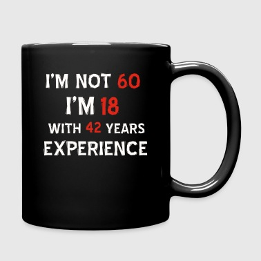 60th birthday designs - Full Color Mug