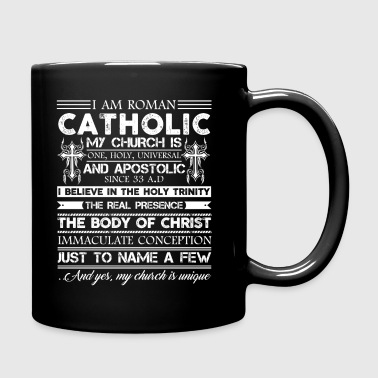 Roman Catholic Shirt - Full Color Mug
