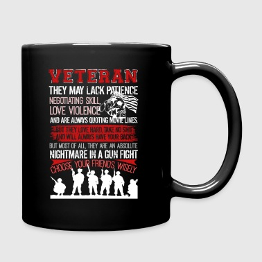 Veteran Tshirt - Full Color Mug