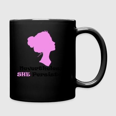 New She persisted - Full Color Mug
