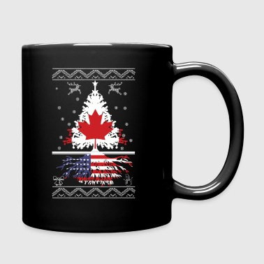 Canadian with American root - Full Color Mug
