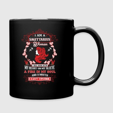 I am a Sagittarius woman - Full Color Mug