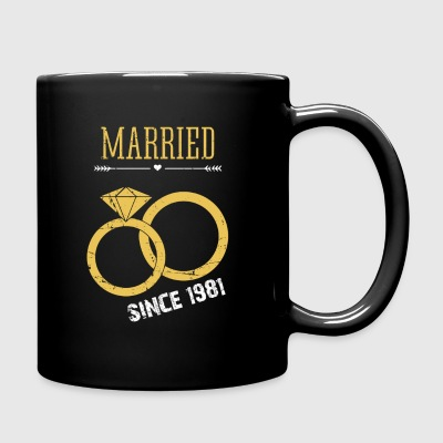 Married since 1981 - Full Color Mug