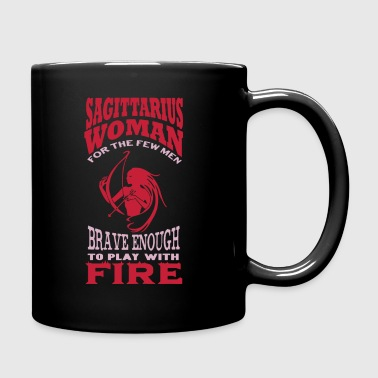 Sagittarius Woman Shirt - Full Color Mug