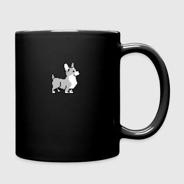 Grey Corgi - Full Color Mug