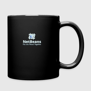 NetBeans with Logo and Slogan - Full Color Mug