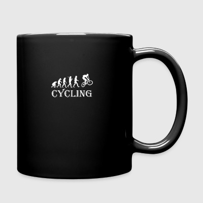 Cycle Evolution Cycling - Full Color Mug