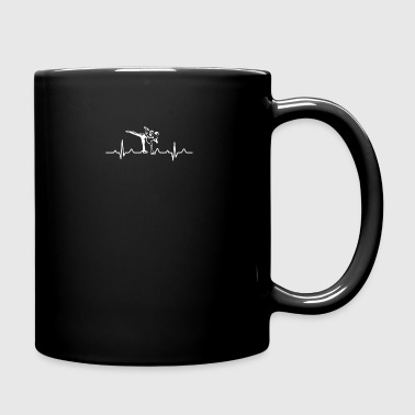 Figure Skating Heartbeat Shirt - Full Color Mug