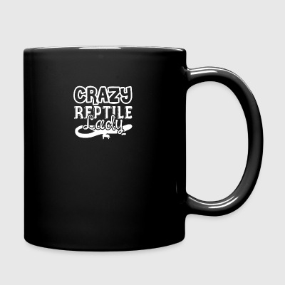 Crazy Reptile Lady Shirts - Full Color Mug