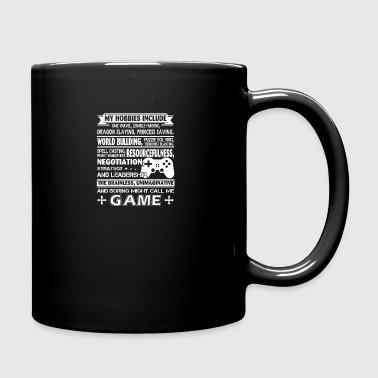 Gamer Tee Shirt - Full Color Mug