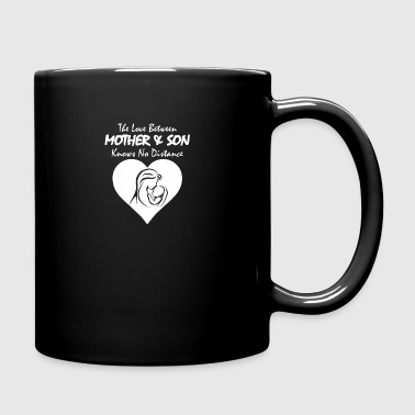 The Love Between Mother And Son Knows No Distance - Full Color Mug