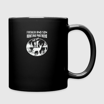 Father and son hunting partner for life - Full Color Mug